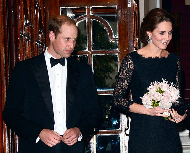 Catherine, Duchess of Cambridge attends the Royal Variety Performance at London Palladium on November 13, 2014 in London, England.