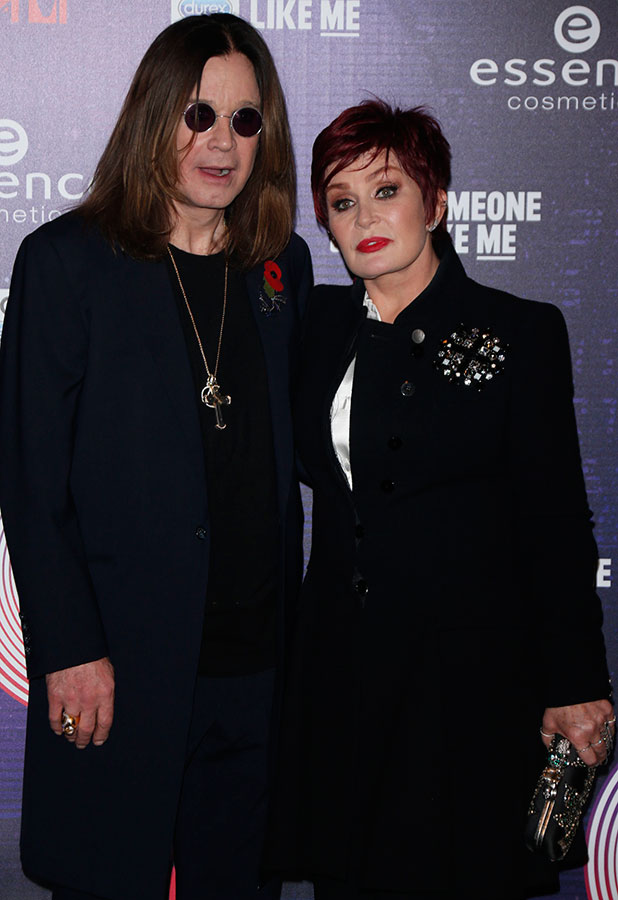 Sharon Osbourne and Ozzy Osbourne at MTV EMA Awards 2014 held at the The Hydro - Press Room, Glasgow, 9 November 2014