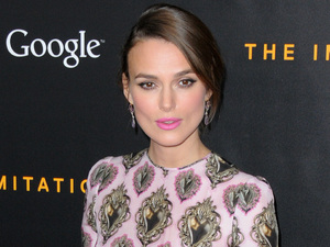 Keira Knightley attends the premiere of The Imitation Game in New York, America - 17 November 2014