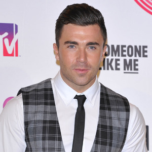James Tindale attends the MTV EMAs, Glasgow 9 November