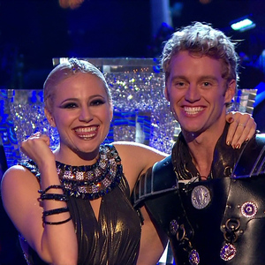 Pixie Lott and Trent Whiddon perform on Strictly Come Dancing, BBC 15 November