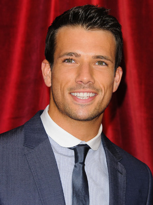 Danny Mac at the British Soap Awards 2012 held at the London ITV Centre - Arrivals - 28/4/2012.