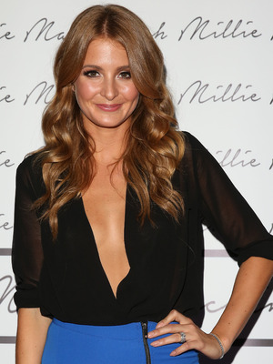 Millie Mackintosh clothing showcase held at London West Bank Gallery - Arrivals, 10 September 2014