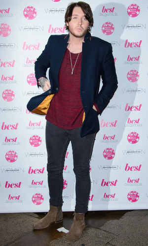 James Arthur shows off a new look at the Best Bravest Women Awards 2014, St James Court hotel in London - 17 Nov 2014