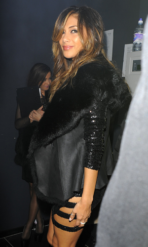 Nicole Scherzinger attends London club opening on November 18, 2014 in London, England.