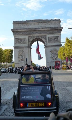 Paris 2CV tour - October 2014.
