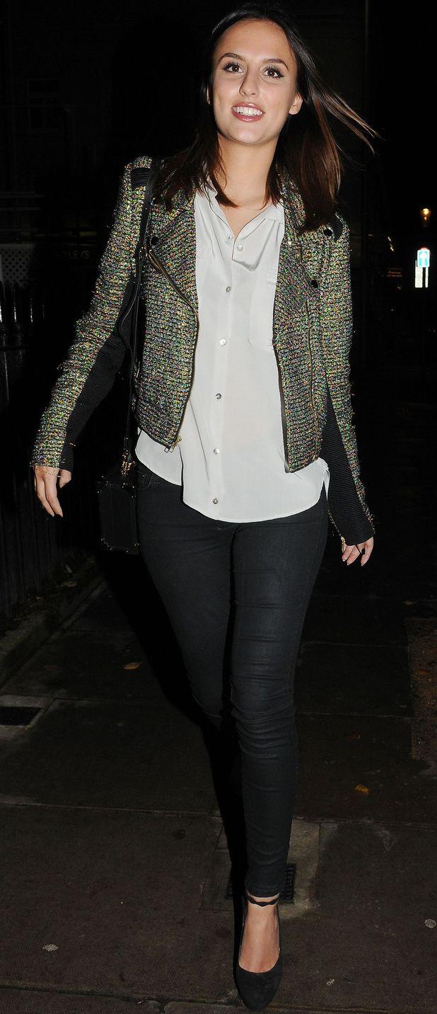 Lucy Watson in London, 17/11/14