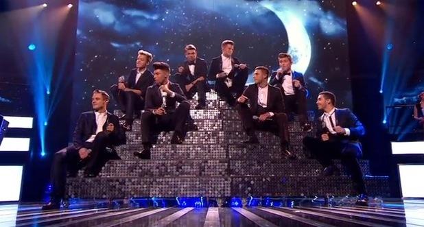 Stereo Kicks perform Mack The Knife on The X Factor - 16 Nov 2014