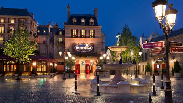 Ratatouille: The Adventure at Disneyland Resort Paris', Disney Studios.