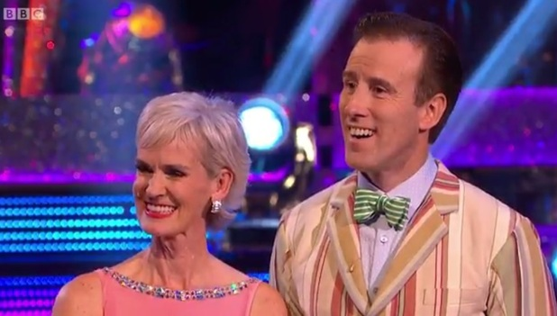 Judy Murray is voted out of Strictly Come Dancing 16 November