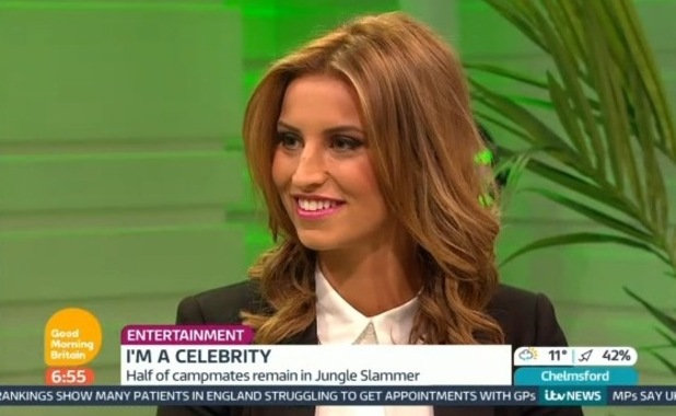 Ferne McCann appears on Good Morning Britain to talk about Gemma Collins - 18 November 2014