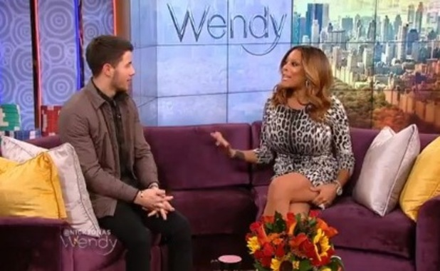 Nick Jonas appears on The Wendy Williams Show - 19 November 2014