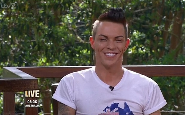 Bobby Norris appears on I'm A Celebrity Get Me Out Of Here Now! 20 November