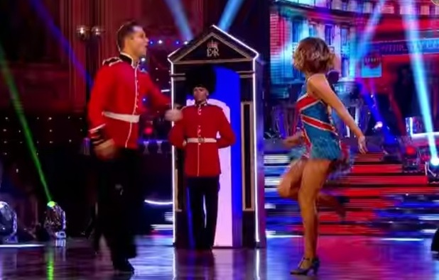 Caroline Flack performs the Jive on Strictly Come Dancing, BBC One 15 November