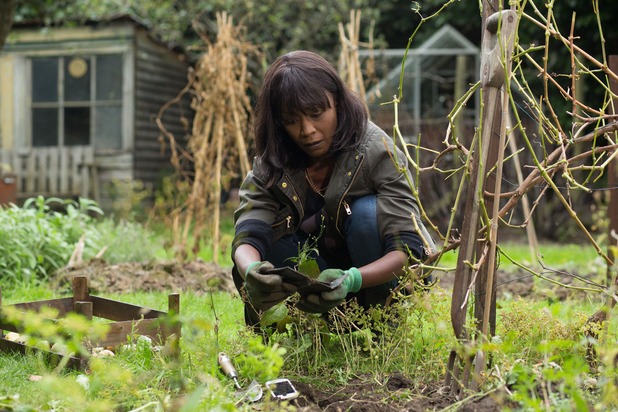 EastEnders, Denise digs up the evidence, Tue 25 Nov