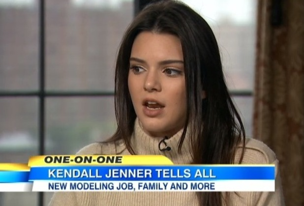 Kendall Jenner appears on Nightline and talks about modelling - 18 Nov 2014