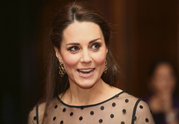 Kate Middleton attends The Place2Be Wellbeing Schools Awards Reception, Kensington Palace, 19 November 2014