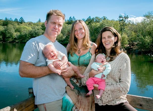 Melinda and Dani Phoenix, One husband, two wives