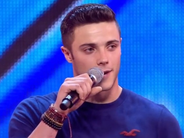 X Factor's Barclay Beales at Arena Audition - Sep 2014