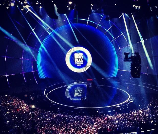 MTV EMA awards, Glasgow 9 November