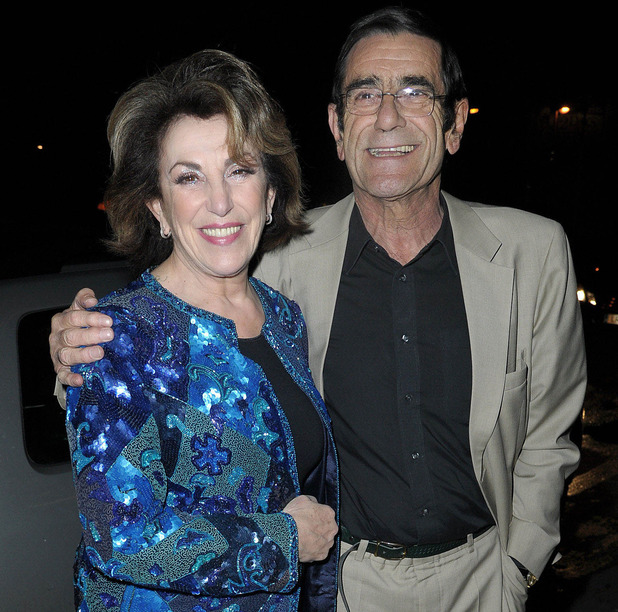 Edwina Currie and husband John Currie, at the Strictly Come Dancing Live Final held at the Pleasure Beach Casino. Blackpool, England - 17.12.11