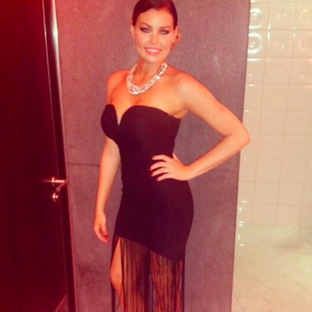 TOWIE's Jessica Wright stuns in LBD in Abu Dhabi, 22 November 2014
