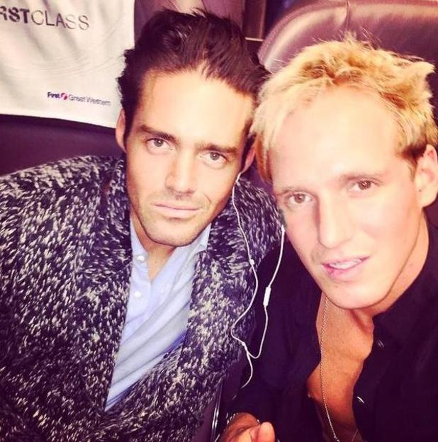 Made In Chelsea's Spencer Matthews and Jamie Laing