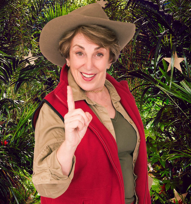 Edwina Currie enters I'm A Celebrity...Get Me Out Of Here! - 20 November 2014