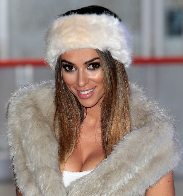 Georgia Salpa at the launch of 'Dundrum On Ice' at Dundrum Town Centre in Dublin, 15 November 2014