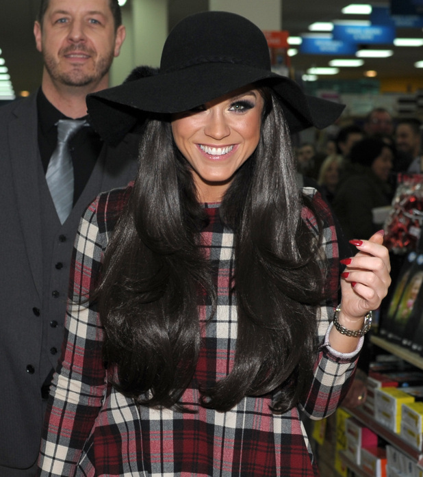Vicky Pattison attends book signing for Nothing But The Truth, Merry Hill 15 November