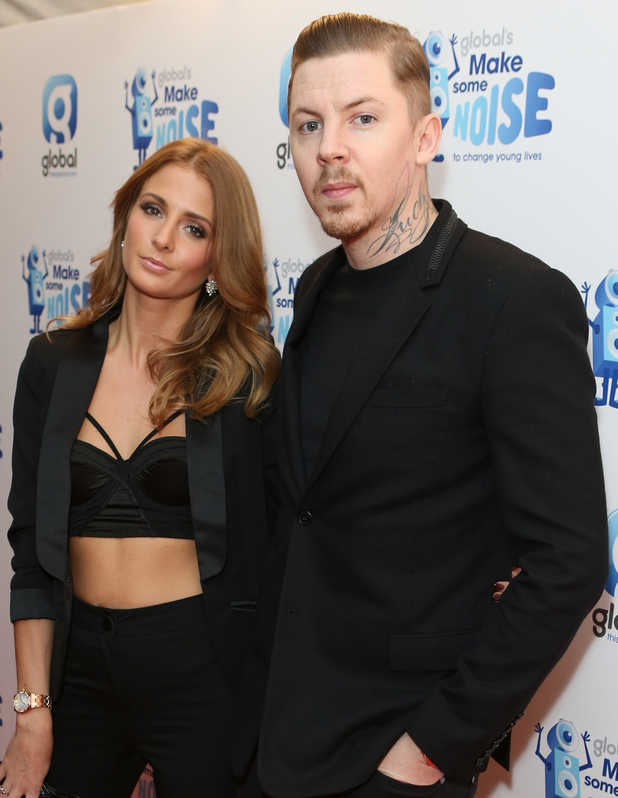 Millie Mackintosh and Professor Green attend Global's Make Some Noise Night, London 20 November