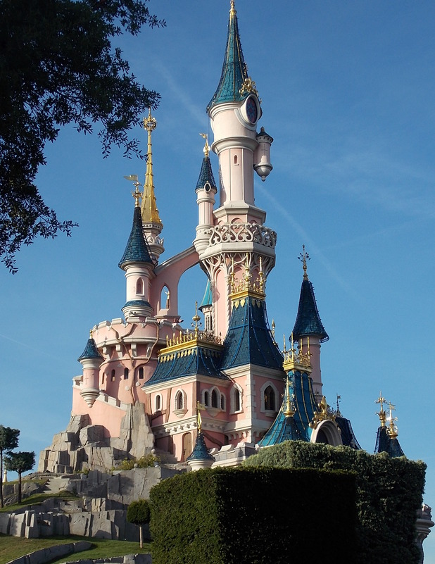 Magic Kingdom at Disneyland Resort Paris', Disney Studios. October 2014.