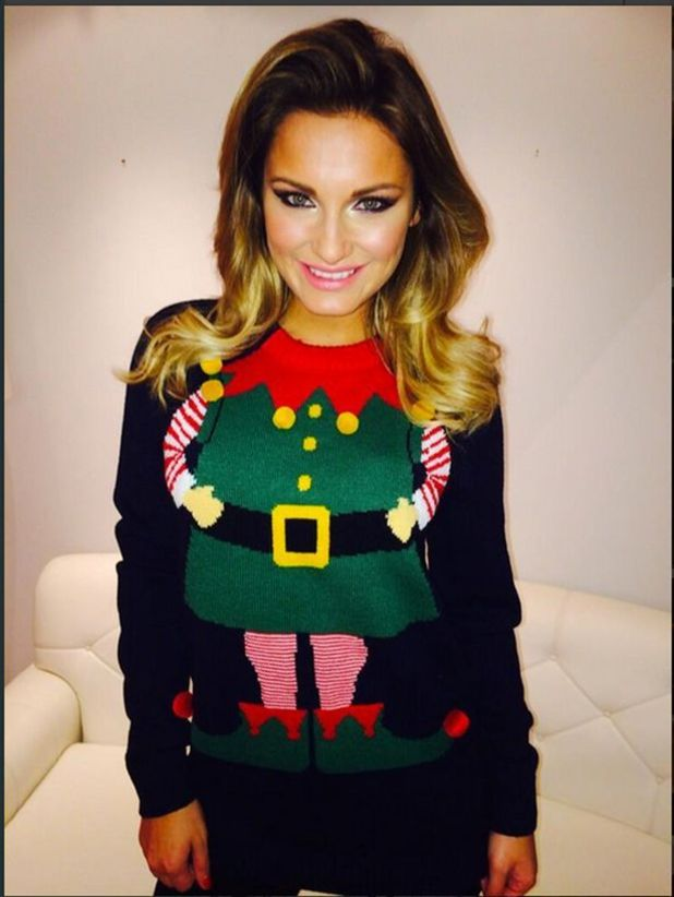 Celebrity Christmas jumpers!