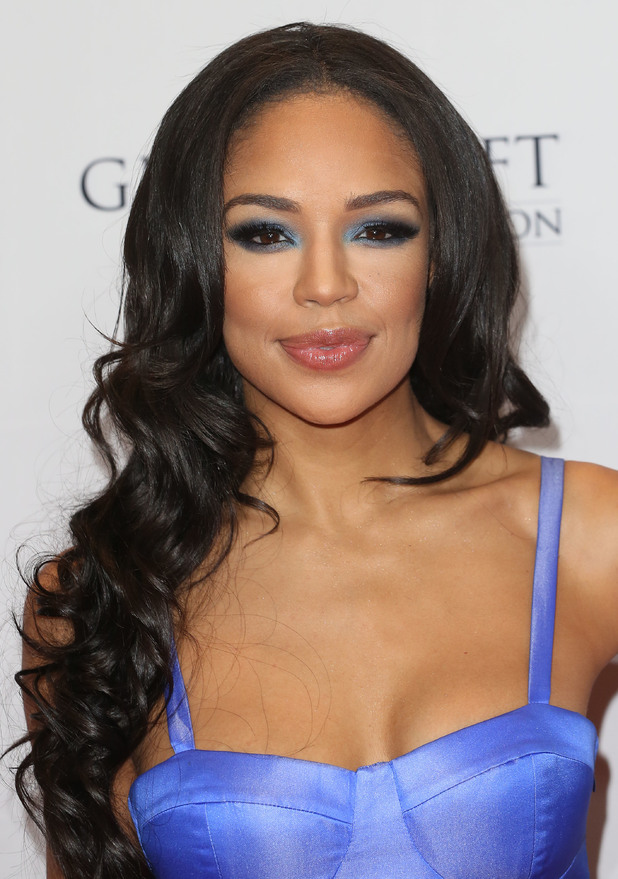 Sarah-Jane Crawford attends the 5th annual Global Gift Gala in London, England - 17 November 2014
