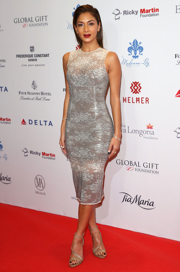 Nicole Scherzinger attends the 5th annual Global Gift Gala in London, England - 17 November 2014