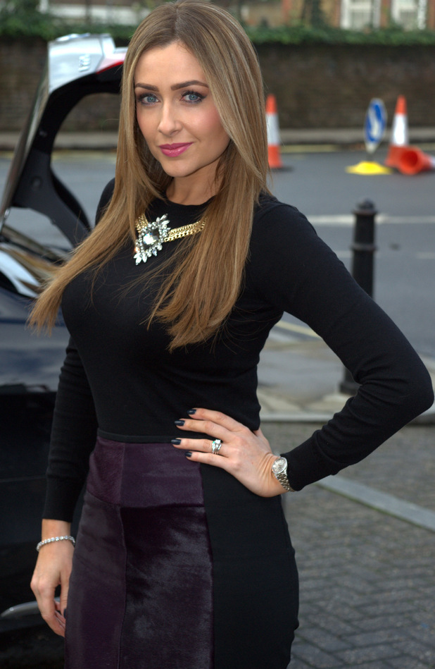 Gemma Merna at Hollyoaks press call, 7/11/14