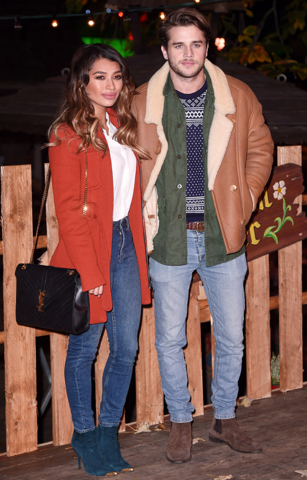 Vanessa White, boyfriend Gary Salter enjoy festive Winter ...