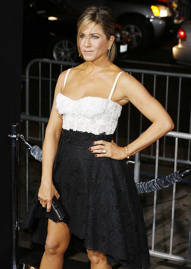 Jennifer Aniston 2014 Golden Globes Jennifer Aniston at Los