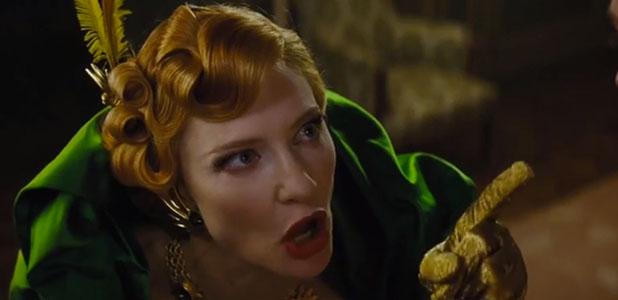 Cinderella trailer screenshot, movie released March 2015