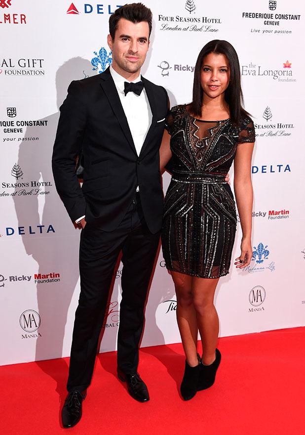 5th Annual Global Gift Gala, London, Britain - 17 Nov 2014 Steve Jones and Phylicia Jackson