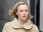 Fearne Cotton ditches the make-up as she leaves work at Radio 1