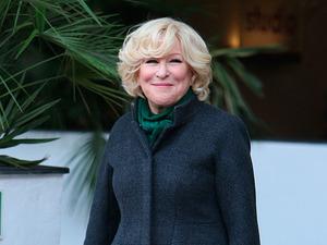Bette Midler outside ITV Studios, November 2014