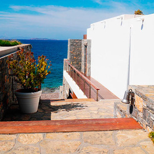 Greece, Athens: Bungalow sea view