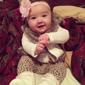 JWoww's baby daughter Meilani - 18 November 2014.