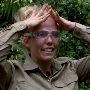 I'm A Celebrity...Get Me Out Of Here!'s Kendra Wilkinson takes part in Cube Critters Bush Tucker Trial - 25 November 2014.