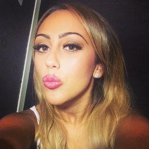 Former Geordie Shore star Sophie Kasaei takes an Instagram selfie - 8 September 2014