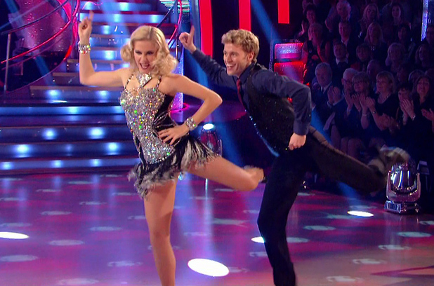 Pixie Lott performs the Charleston on Strictly Come Dancing, BBC One 22 November