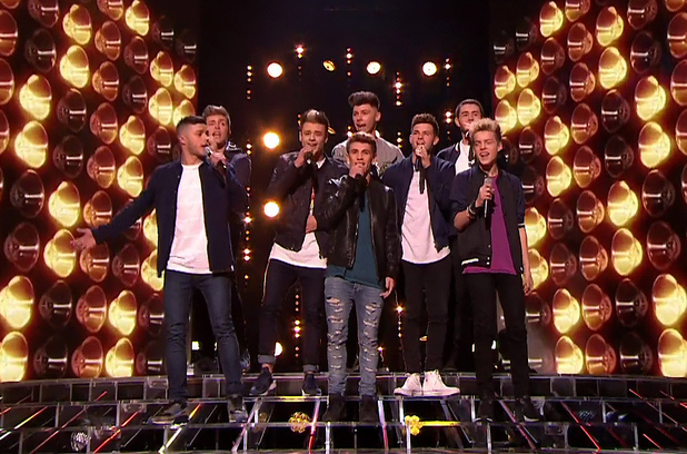Stereo Kicks perform on 'The X Factor - Results', Shown on ITV1 HD - 23/11/14