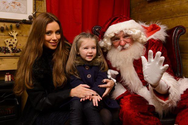 Una Foden takes daughter Aoife to Christmas at Legoland Windsor Resort Press day, London, Britain - 29 Nov 2014