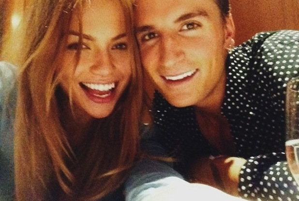 Oliver Proudlock and new girlfriend Emma Lousie Connolly on date night 25 November